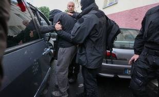 Strasbourg le 13 05 2014. TERRORISME - Les forces de l'ordre ont interpellé des jeunes soupçonnés d'être partis en Syrie.  (Archives)