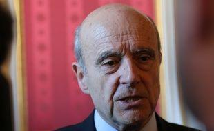Alain Juppé, le 14 décembre 2015 à l'hôtel de ville de Bordeaux
