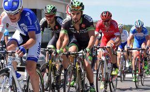 Armindo Fonseca, ici aux côtés de son coéquipier chez BSE Arnaud Gérard, un Breton déjà assuré de sa participation au Tour, lui...