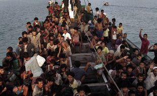 Ces dernières semaines, plus de 3.500 migrants affamés sont arrivés en Thaïlande, en Malaisie et en Indonésie.