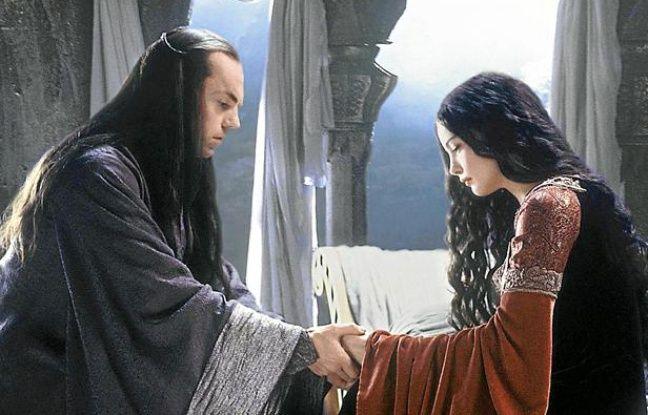 """Des elfes dans le film """"Le Seigneur des anneaux: Le Retour du roi""""."""