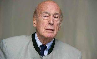 Valéry Giscrad d'Estaing, le 26 août 2012 au festival «la Forêt des livres» à Chanceaux-pres-Loches.