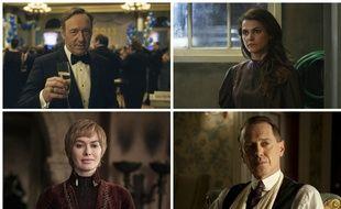 Frank Underwood de « House of Cards », Elizabeth Jennings de « The Americans », Cersei Lannister de « Game of Thrones » et Nucky Thompson de « Boardwalk Empire » concourent dans la catégorie personnages les plus malins des années 2010.
