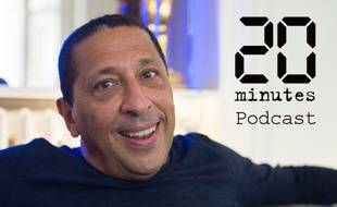 L'humoriste et acteur Smaïn, en interview pour «20 Minutes», le 25 juin 2020 à Paris