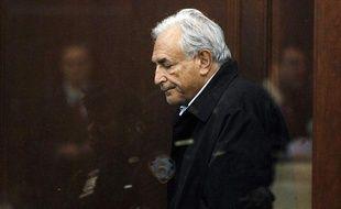 Le directeur du FMI, Dominique Strauss-Kahn, lors de son audience au tribunal de New York, le 16 mai 2011.