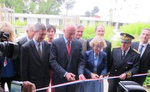 Geneviève Fioraso a inauguré le chantier de rénovation du campus bordelais