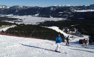 La station de ski des Angles, dans les Pyrénées.