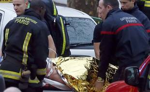 Une fusillade a éclaté dans le sud de Paris, le 8 janvier 2014.