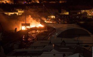 Un incendie a touché une vingtaine de bateaux à Marseille