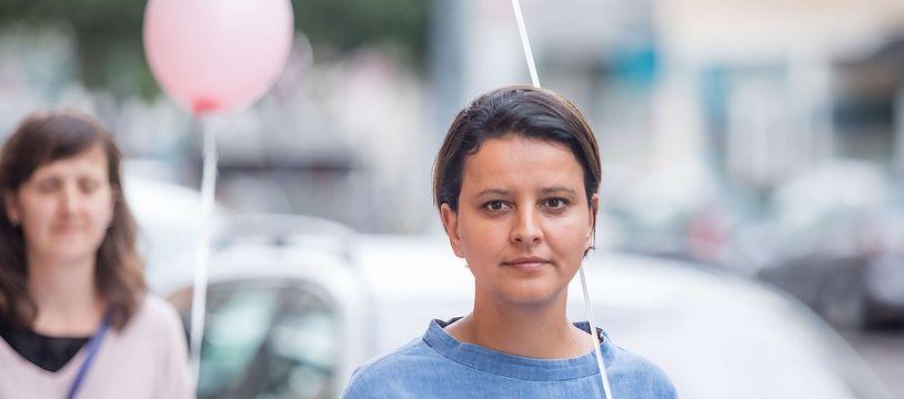 Najat Vallaud-Belkacem, le 3 juin 2017 à Villeurbanne.