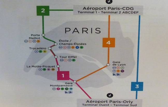 Keolis a prévu trois nouveaux arrêts dans Paris pour son nouveau service Bus Direct.