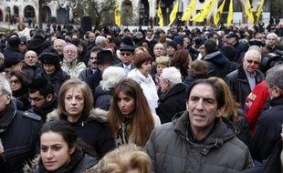 Rassemblement contre l'antisémitisme le 7 décembre 2014 à Créteil