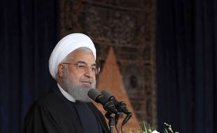 Hassan Rouhani, le 24 avril 2018.