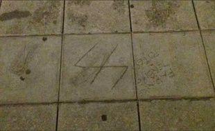 Des inscriptions antisémites ont été retrouvées devant l'ancien lycée de Simone Veil à Nice.