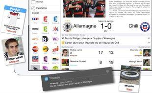 Avec TiVipedia, complétez vos soirées matchs avec des informations contextuelles lors de chaque rencontre.