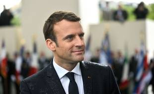 Emmanuel Macron, le jour de son investiture, le 14 mai 2017.