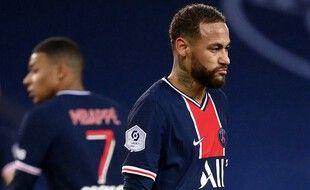 Neymar n'a pas vraiment kiffé la cérémonie des trophées The Best jeudi soir.
