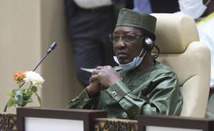 Le président du Tchad Idriss Déby Itno, le 30 juin 2020.