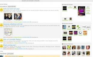 La page d'accueil de Weplug.com