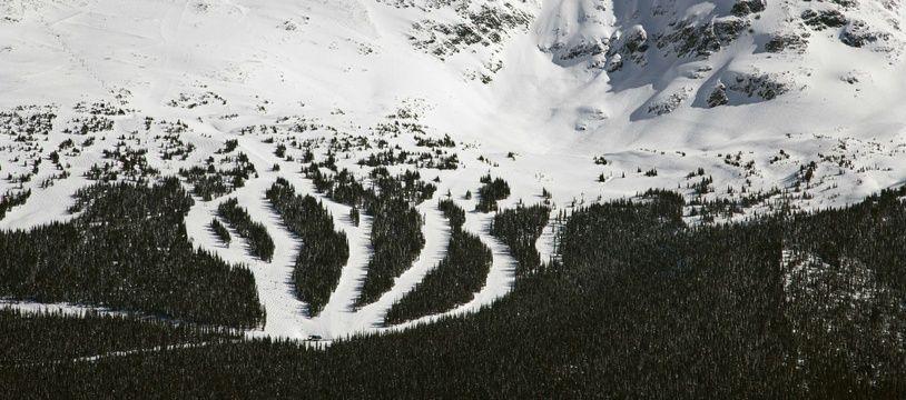 Une station de ski en Colombie-Britannique (illustration).
