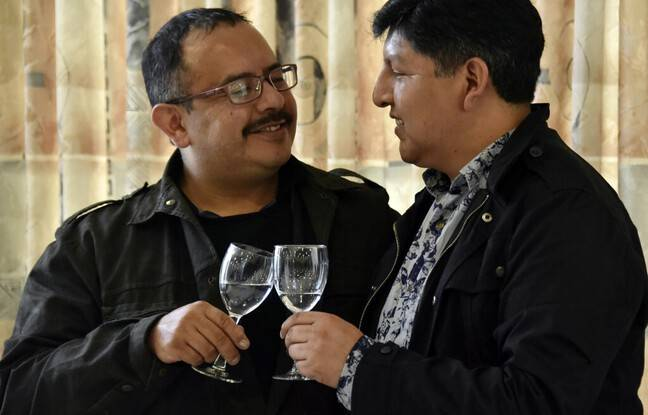 648x415 premier couple homme legalement reconnu bolivie david aruquipa guido montano