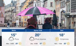 Météo Mulhouse: Prévisions du mardi 4 août 2020