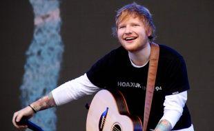 Le chanteur Ed Sheeran