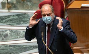 Paris, le 8 juin 2021. Eric Dupond-Moretti lors des débats à l'Assemblée nationale.