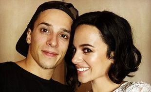 Grégoire Lyonnet et Alizée sur le compte Instagram du danseur.