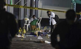 L'attaque menée le 14 septembre 2018 sur la place Garibaldi, dans le centre de Mexico, a fait cinq morts et huit blessés.