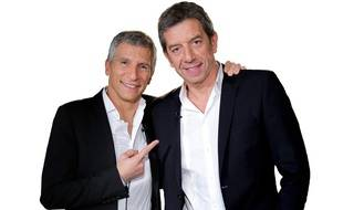 Nagui et Michel Cymes.