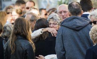 Les obsèques des victimes de l'attentat de Marseille ont rassemblé des centaines de personnes.