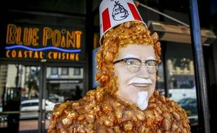 Un fast-food KFC à San Diego.
