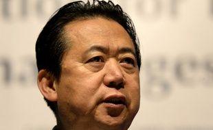 Hongwei Meng, le président chinois d'Interpol