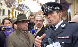 L'ancien préfet du Bas-Rhin, ici avec Bernard Cazeneuve (archives)