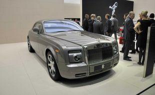 Illustration d'une Rolls Royce.