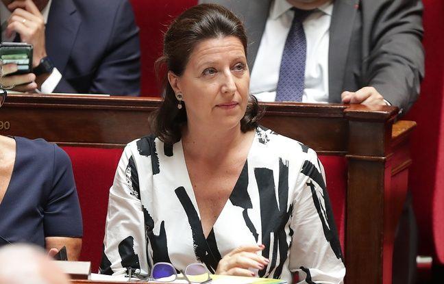 Agnes Buzyn à l'Assemblée nationale le 23 juillet. La ministre de la Santé va porter ce projet de loi sur la bioéthique et notamment l'ouverture de la PMA aux couples de femmes et aux femmes seules.