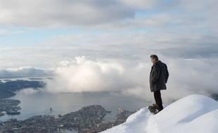 Michael Fassbender dans Le bonhomme de neige de Tomas Alfredson