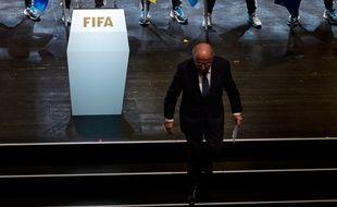 Sepp Blatter, le président de la Fifa, le 28 mai 2015 à Zurich.