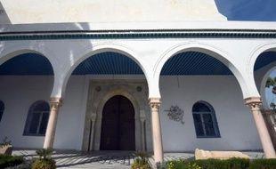 L'entrée principale du musée du Bardo, à Tunis, le 19 mars 2015
