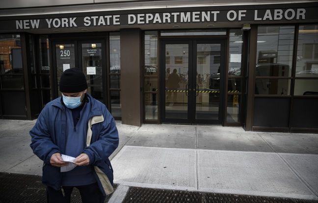 Coronavirus: Le nombre de nouveaux chômeurs explose tous les records aux Etats-Unis