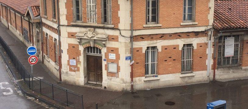 L'école Arenc Bachas, dans le XVe arrondissement de Marseille.