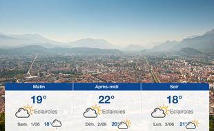 Météo Grenoble: Prévisions du vendredi 31 mai 2019