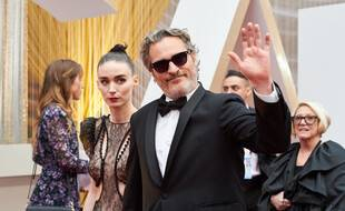 L'actrice Rooney Mara et l'acteur Joaquin Phoenix