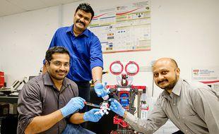 Des scientifiques ont conçu un robot sensible à la douleur