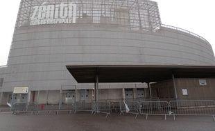 Le Zénith de Nantes métropole, à Saint-Herblain.