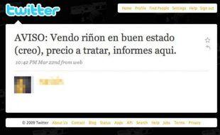 Des Espagnols vendent leurs organes sur le net pour faire face à la crise.