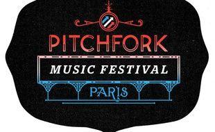Logo du festival de musique Pitchfork.
