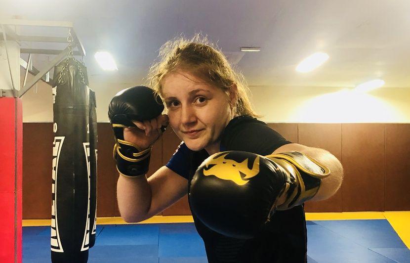 Bordeaux : « Le MMA, ce n'est pas qu'un truc de bourrin »... Marine Cruau-Delfau veut se faire un nom dans l'octogone