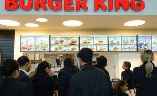 Un restaurant Burger King, le 22 décembre 2012 à Marignane, près de Marseille